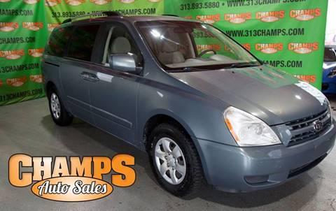 2009 Kia Sedona for sale at Champs Auto Sales in Detroit MI