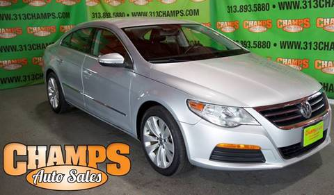 2012 Volkswagen CC for sale at Champs Auto Sales in Detroit MI
