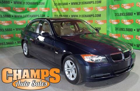 2008 BMW 3 Series for sale at Champs Auto Sales in Detroit MI