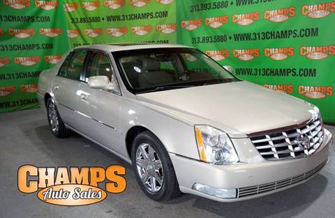 2007 Cadillac DTS for sale at Champs Auto Sales in Detroit MI