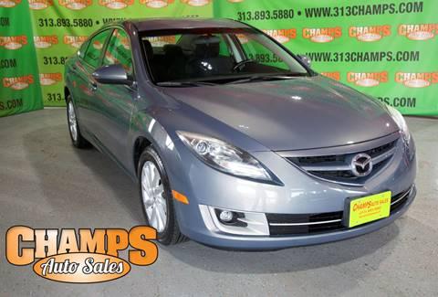 2011 Mazda MAZDA6 for sale at Champs Auto Sales in Detroit MI