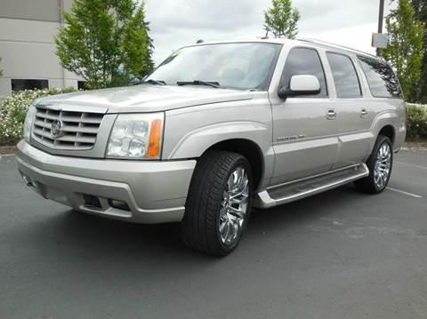 2004 Cadillac Escalade ESV for sale in Woodinville, WA