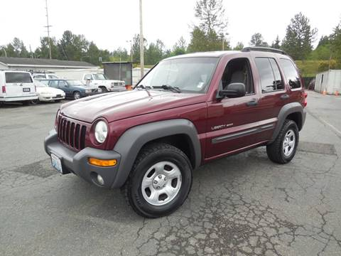 2002 Jeep Liberty for sale in Woodinville, WA