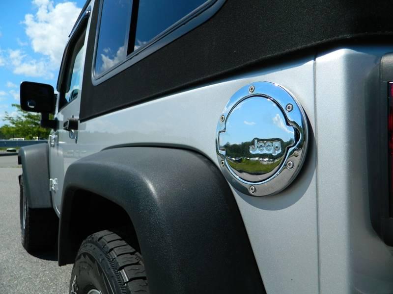 2009 Jeep Wrangler 4x4 X 2dr SUV - Exeter RI