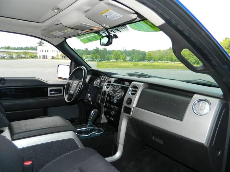 2010 Ford F-150 4x4 FX4 4dr SuperCrew Styleside 5.5 ft. SB - Exeter RI