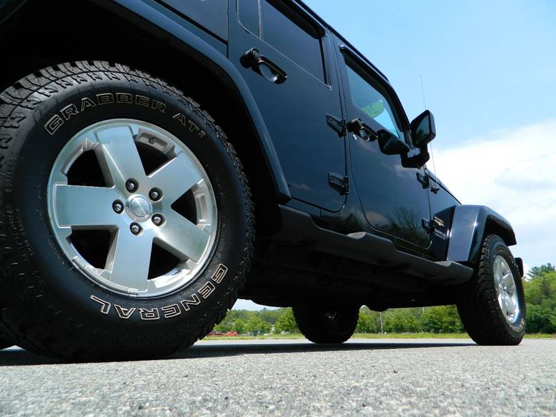 2008 Jeep Wrangler Unlimited 4x4 Sahara 4dr SUV w/Side Airbag Package - Exeter RI