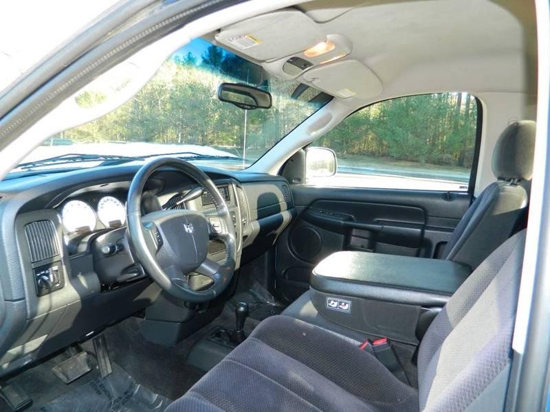 2004 Dodge Ram Pickup 1500 2dr Regular Cab SLT 4WD SB - Exeter RI