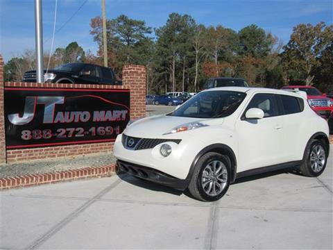 nissan juke for sale in sanford nc. Black Bedroom Furniture Sets. Home Design Ideas