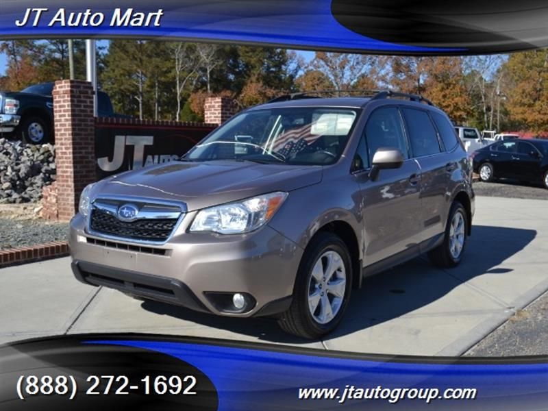 2015 subaru forester awd limited 4dr wagon in sanford nc j t auto mart. Black Bedroom Furniture Sets. Home Design Ideas