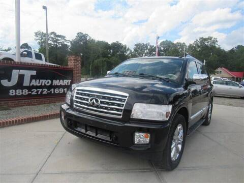 2010 Infiniti QX56 for sale at J T Auto Group in Sanford NC