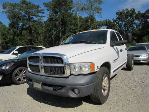 2005 Dodge Ram Pickup 3500 for sale at J T Auto Group in Sanford NC