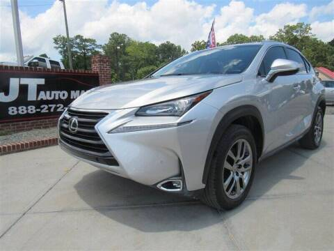 2016 Lexus NX 200t for sale at J T Auto Group in Sanford NC