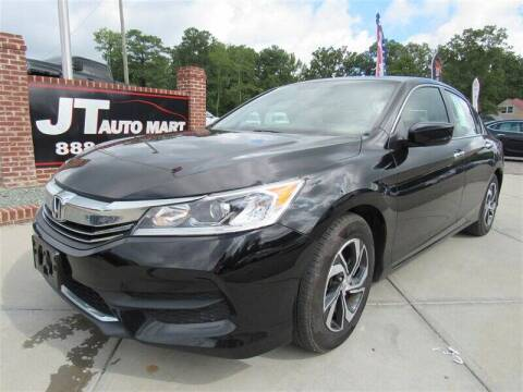 2017 Honda Accord for sale at J T Auto Group in Sanford NC