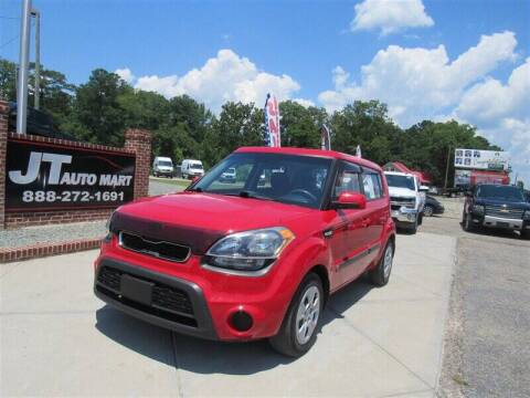 2013 Kia Soul for sale at J T Auto Group in Sanford NC
