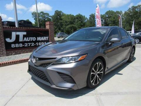 2018 Toyota Camry for sale at J T Auto Group in Sanford NC