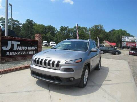 2014 Jeep Cherokee for sale at J T Auto Group in Sanford NC