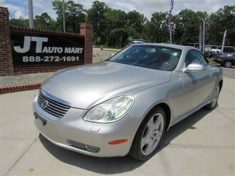2005 Lexus SC 430 for sale at J T Auto Group in Sanford NC