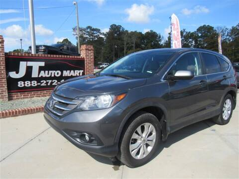 2014 Honda CR-V for sale at J T Auto Group in Sanford NC