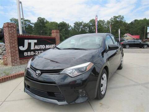 2014 Toyota Corolla for sale at J T Auto Group in Sanford NC