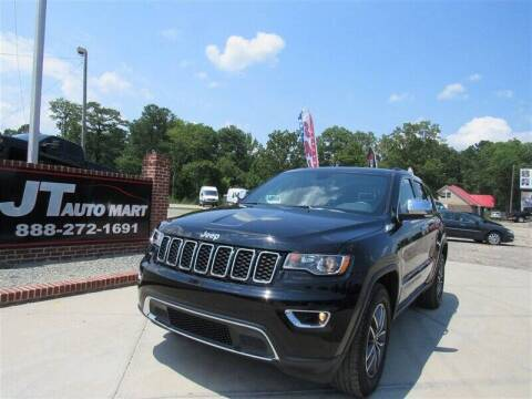 2019 Jeep Grand Cherokee for sale at J T Auto Group in Sanford NC
