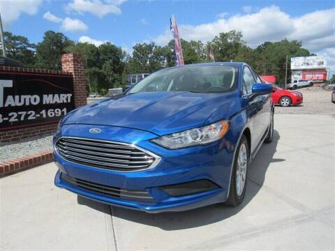 2017 Ford Fusion for sale at J T Auto Group in Sanford NC