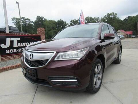 2014 Acura MDX for sale at J T Auto Group in Sanford NC