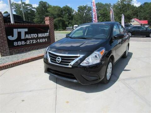 2018 Nissan Versa for sale at J T Auto Group in Sanford NC