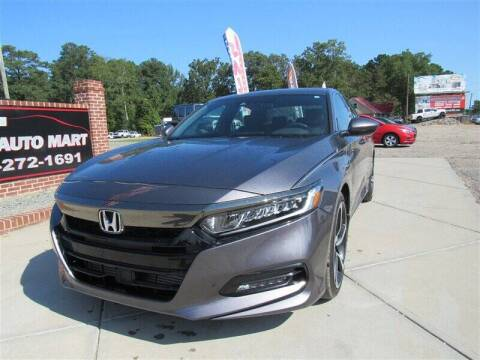 2019 Honda Accord for sale at J T Auto Group in Sanford NC