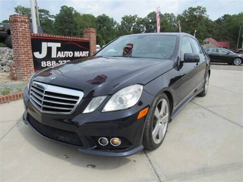 2010 Mercedes-Benz E-Class for sale at J T Auto Group in Sanford NC