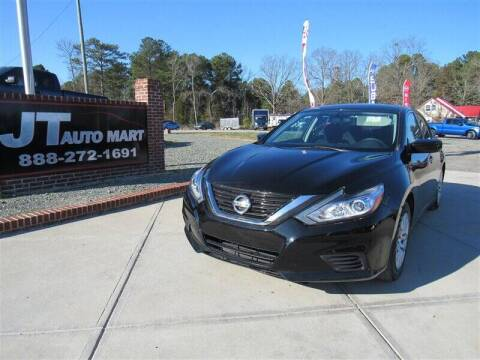 2017 Nissan Altima for sale at J T Auto Group in Sanford NC
