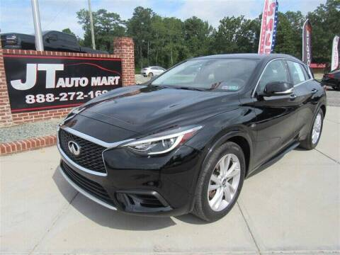 2018 Infiniti QX30 for sale at J T Auto Group in Sanford NC