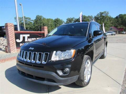 2016 Jeep Compass for sale at J T Auto Group in Sanford NC