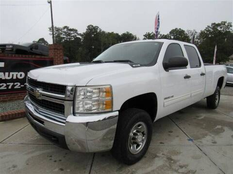 2010 Chevrolet Silverado 2500HD for sale at J T Auto Group in Sanford NC