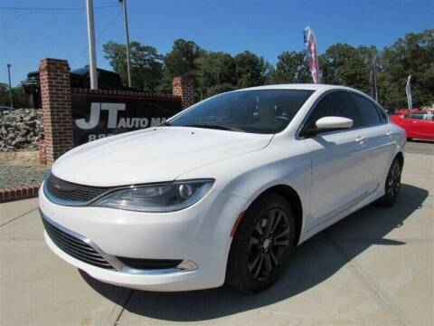 2017 Chrysler 200 for sale at J T Auto Group in Sanford NC