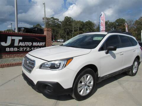 2017 Subaru Outback for sale at J T Auto Group in Sanford NC