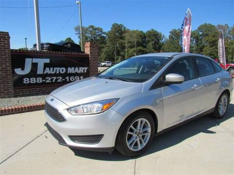 2018 Ford Focus for sale at J T Auto Group in Sanford NC