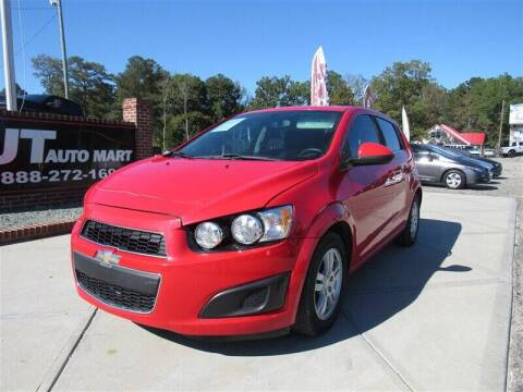 2014 Chevrolet Sonic for sale at J T Auto Group in Sanford NC
