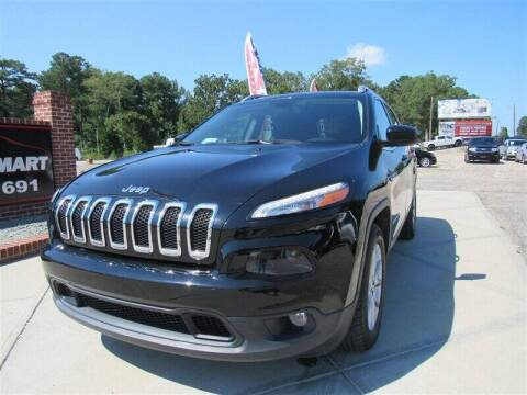 2018 Jeep Cherokee for sale at J T Auto Group in Sanford NC