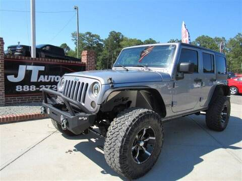 2013 Jeep Wrangler Unlimited for sale at J T Auto Group in Sanford NC