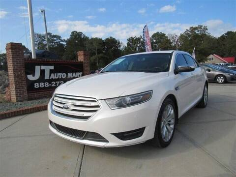 2015 Ford Taurus for sale at J T Auto Group in Sanford NC