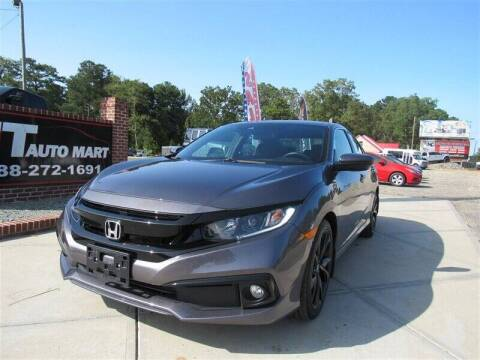2019 Honda Civic for sale at J T Auto Group in Sanford NC