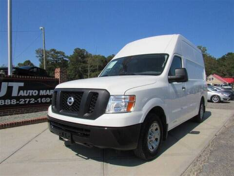 2017 Nissan NV Cargo for sale at J T Auto Group in Sanford NC