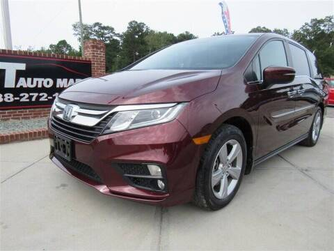 2018 Honda Odyssey for sale at J T Auto Group in Sanford NC