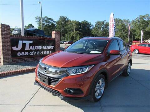 2019 Honda HR-V for sale at J T Auto Group in Sanford NC