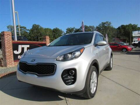 2018 Kia Sportage for sale at J T Auto Group in Sanford NC