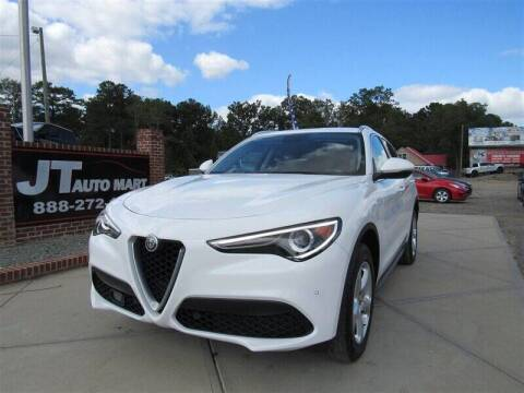 2018 Alfa Romeo Stelvio for sale at J T Auto Group in Sanford NC