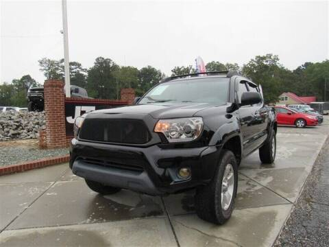 2012 Toyota Tacoma for sale at J T Auto Group in Sanford NC