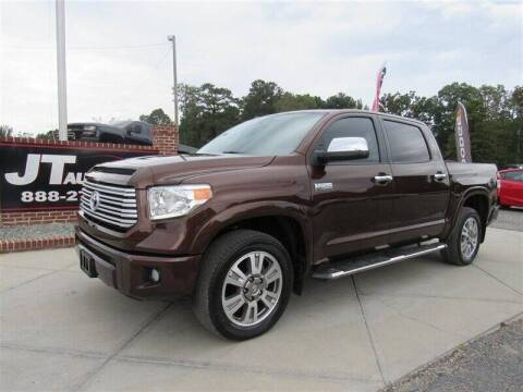 2017 Toyota Tundra for sale at J T Auto Group in Sanford NC