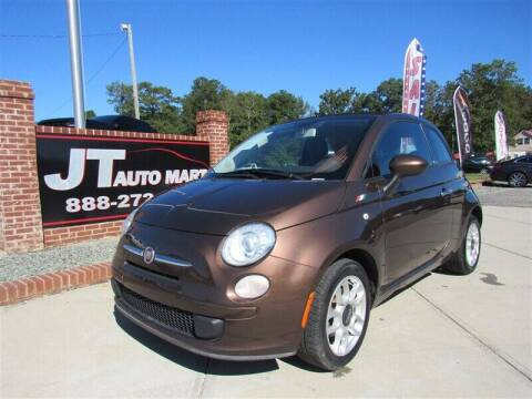 2012 FIAT 500c for sale at J T Auto Group in Sanford NC