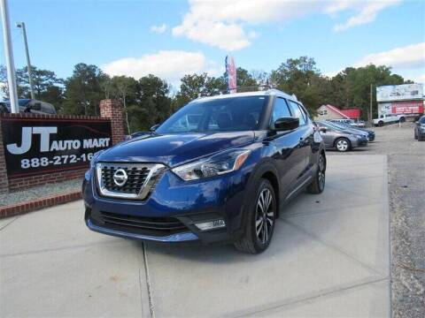 2018 Nissan Kicks for sale at J T Auto Group in Sanford NC